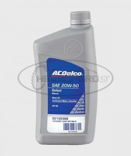 Aceite Motor Mineral 20W50...